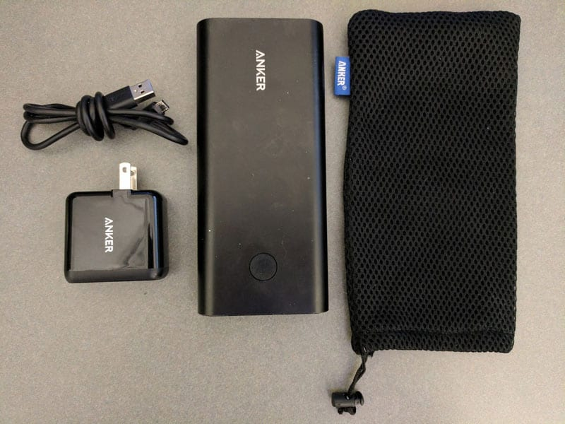 Anker Powercore 26800 Contents - Battery Pack